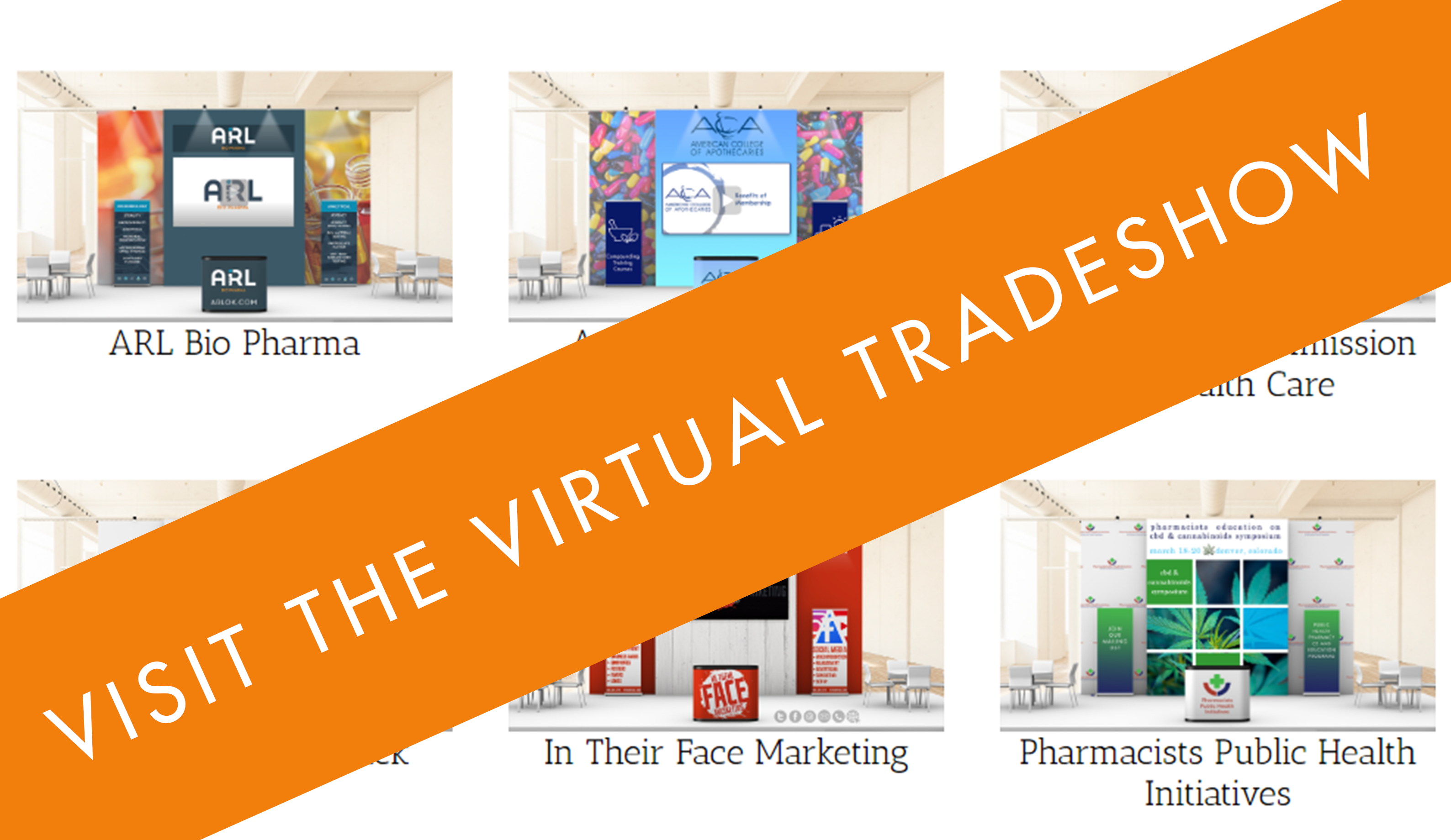 Visit the Virtual Tradeshow